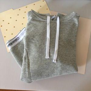 🆕 {Calvin Klein}  Grey Hoody Sweatshirt